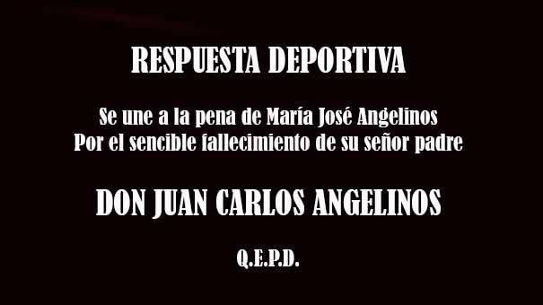 TENISTAS FALLECIDOS: DON JUAN CARLOS ANGELINOS