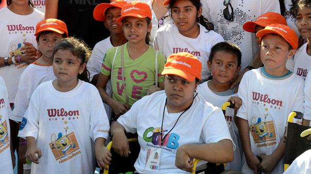 LA FIRMA WILSON SE NOTÓ EN EL KIDS DAY