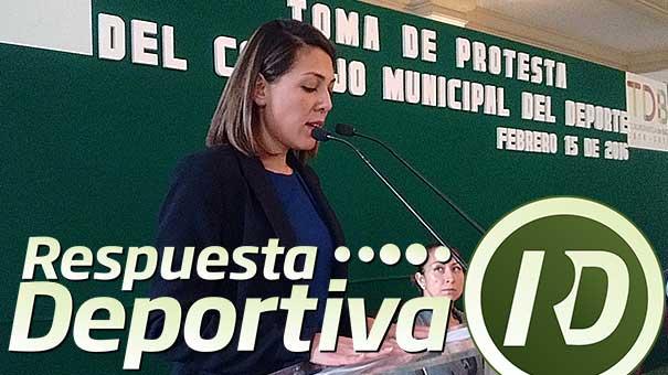 DENNIS UGALDE, TOMÓ LA PROTESTA AL CONSEJO MUNICIPAL DEL DEPORTE DE TLALNEPANTLA