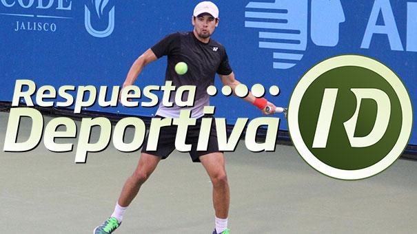 Lucas Gómez avanza en el Jalisco Open.