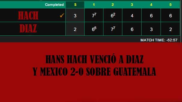 HANS HACH LE DIO EL 2-0 A MÉXICO,