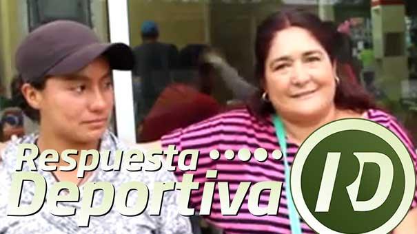 MARÍA FERNANDA CARVAJAL DERRAMÓ LAGRIMAS AL RECONOCER EL ESFUERZO DE SU MADRE