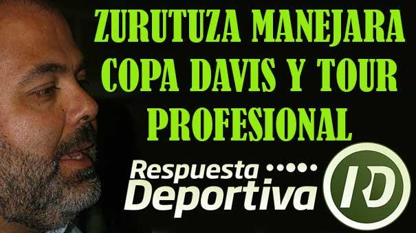 RAÚL ZURUTUZA, A LA COPA DAVIS Y CIRCUITO PROFESIONAL