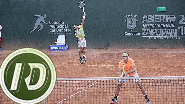 Astorga y Sánchez, campeones del Abierto de Zapopan.