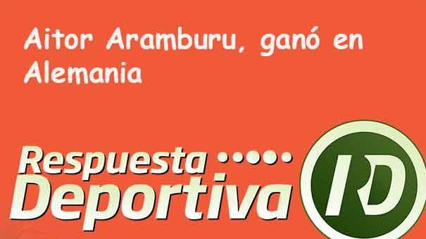 GRAN TRIUNFO DE AITOR ARAMBURU