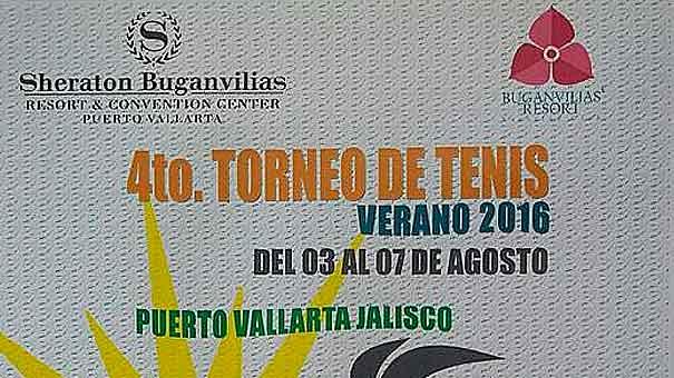 EN SHERATON BUGANVILIAS  CUARTO TORNEO DE VERANO
