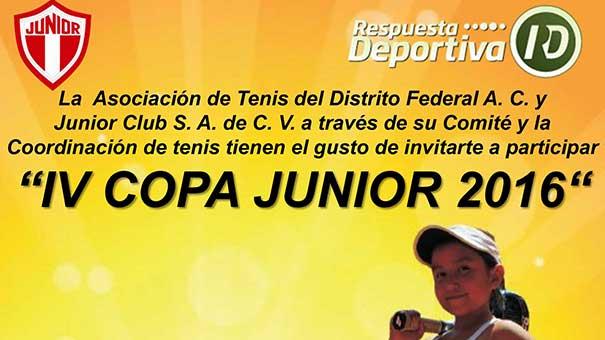 COPA JUNIOR CLUB DENTRO DEL FESTEJO DEL 110 AÑIVERSARIO