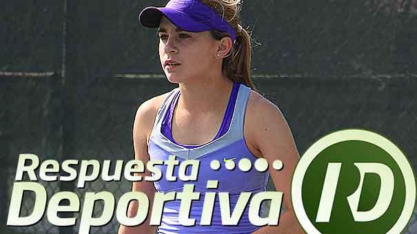 ALEXIA COUTIÑO SE FUE EN SEMIFINALES DE UN ITF EN EL CLUB SAN AGUSTÍN