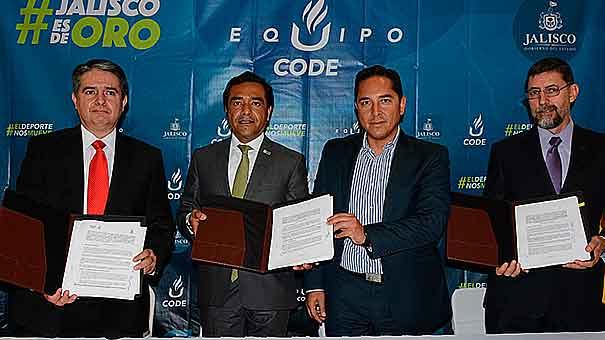 VICKY GARIBAY: Universidades firman convenio con Code Jalisco