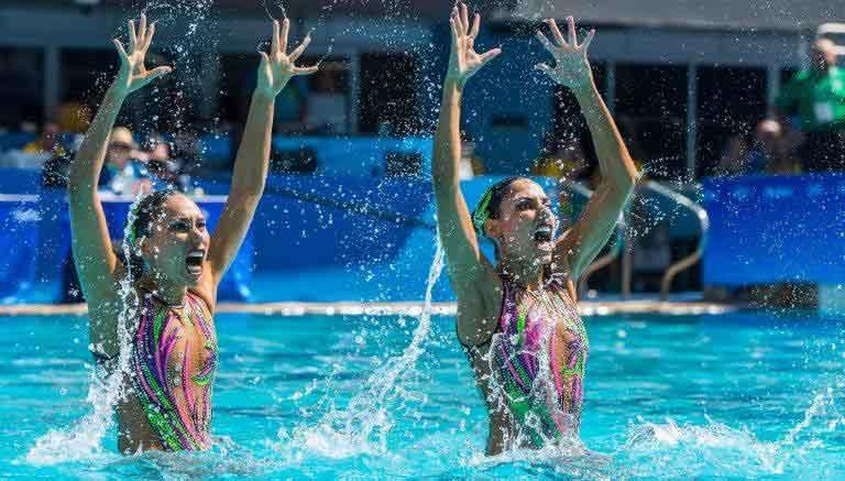 JUEGOS OLÍMPICOS 2016  Cumplen sirenas mexicanas en Río.