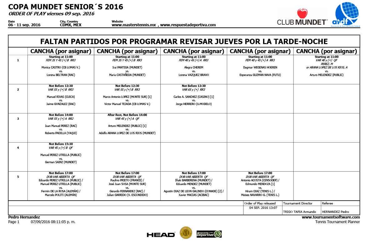 COPA-MUNDET-SENIOR´S-2016-HORARIOS-JUEVES-08-2