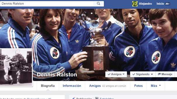 DENNIS RALSTON, FINALISTA DE WIMBLEDON LE DIO CLIC A ME GUSTA RESPUESTA DEPORTIVA