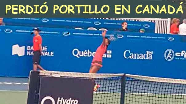 CAYÓ MARÍA JOSÉ PORTILLO EN EL ITF DE CANADÁ