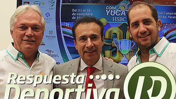 JOSE ANTONIO FLORES, MÁXIMA AUTORIDAD EN EL LANZAMIENTO DE LA COPA YUCATÁN
