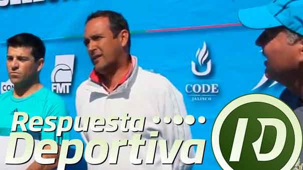 SELECTIVO DE COPA DAVIS: AGRADECIMIENTO A GUSTAVO SANTOSCOY, DIRECTOR COMUDE DE ZAPOPAN