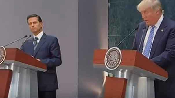RESPUESTA DEPORTIVA NO CRITICO EN TIEMPO Y FORMA EL ACTUAR DEL PRESIDENTE PEÑA NIETO CON DONALD TRUMP