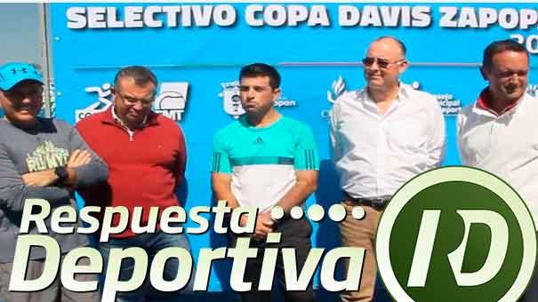 SELECTIVO COPA DAVIS: DIRECTIVOS FMT PRESENTES EN ZAPOPAN