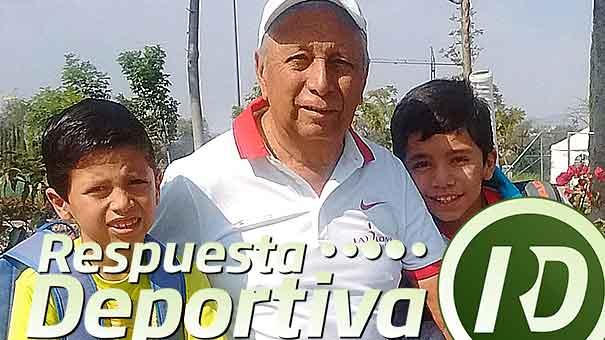 JORGE MENDOZA, SIGUE ACTIVO EN LA LOMA CENTRO DEPORTIVO