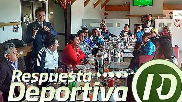 CHEMA GALINDO CON EL APOYO TOTAL DE LA FMT