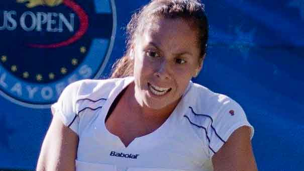 MEXICANA GIULIANA OLMOS EN LA FINAL DEL WTA DE VANCOUVER