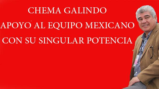 CHEMA GALINDO ES SERIO COMPETIDOR DEL CHACA CHACA