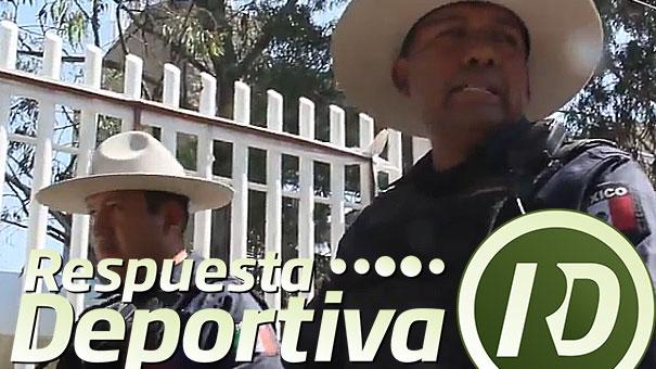 COPA DAVIS: LA CABALLERIA SE UNIÓ A LA SEGURIDAD EN ZAPOPAN