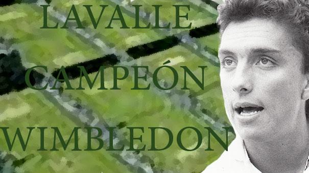 ALEJANDRO ÁLVAREZ ZENITH RECORDÓ LA CORONACIÓN DE LEO LAVALLE EN WIMBLEDON 1985