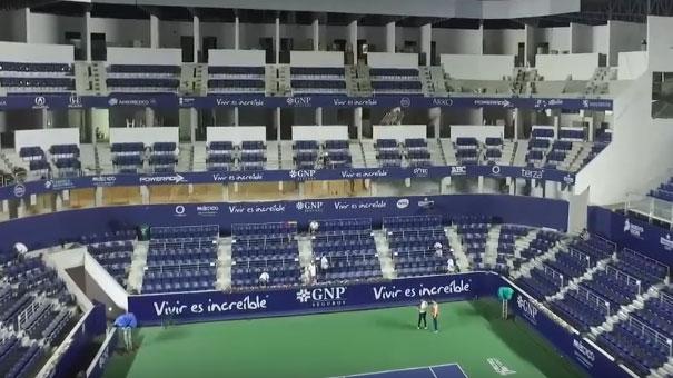 BELLO ESTADIO DEL WTA DE MONTERREY… CHECA COMO SE CONSTRUYO