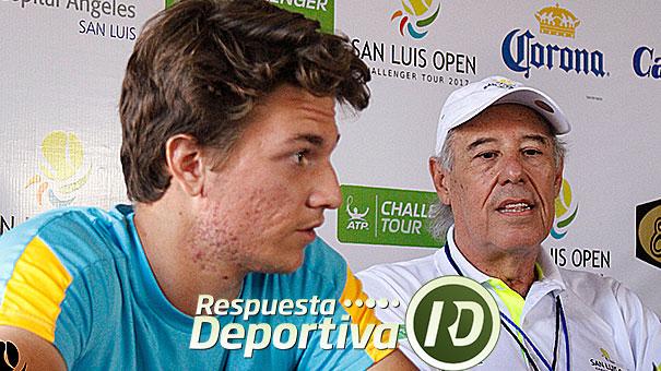 Miomir Kecmanovic, joven promesa del tenis en el San Luis Open