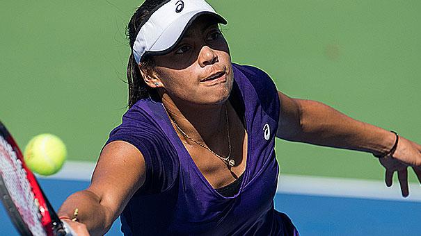 VICTORIA RODRÍGUEZ LLEVA DOS Y LE FALTA UNO PARA CALIFICAR AL WTA DE MONTERREY