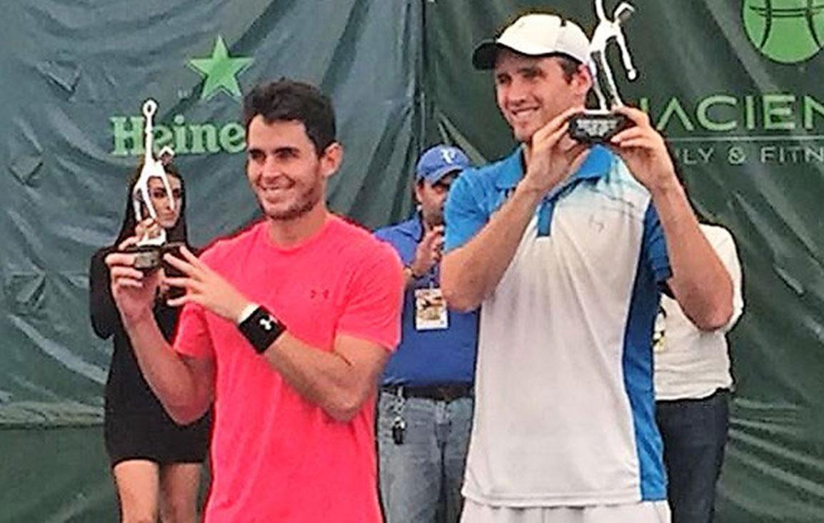 Kevin King, monarca del Villahermosa Open de Tenis
