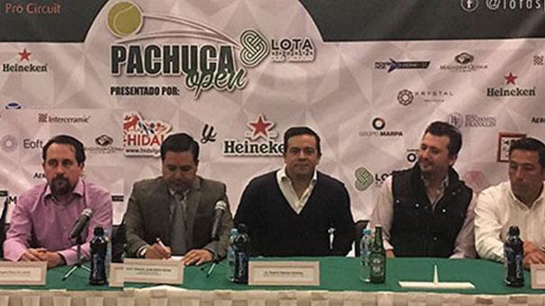 Todo listo para el Pachuca Open Lota Sports presentado por Hidalgo Travel y Heineken