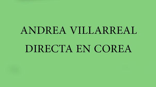 ANDREA VILLARREAL TOMA LA ESTAFETA DE MÉXICO EN COREA