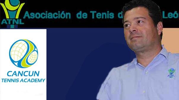 MARIO CHÁVEZ, PRIMER VICEPRESIDENTE FMT, RECONOCIÓ SERIEDAD DE CANCUN TENNIS ACADEMY