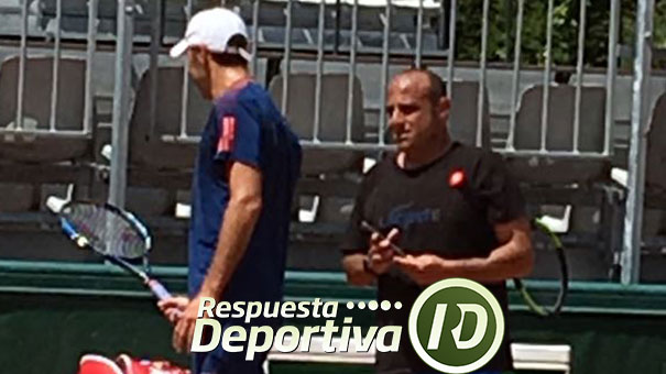 LUIS HERRERA ASISTE A SANTIAGO GONZÁLEZ PREVIO A LA FINAL DEL ROLAND GARROS
