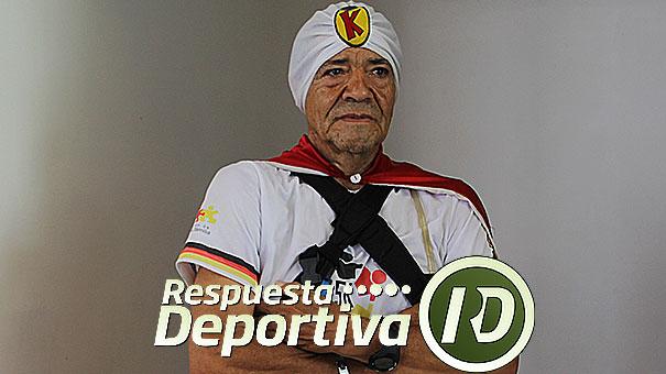 MEXICANO DE 65 AÑOS PONE EL EJEMPLO