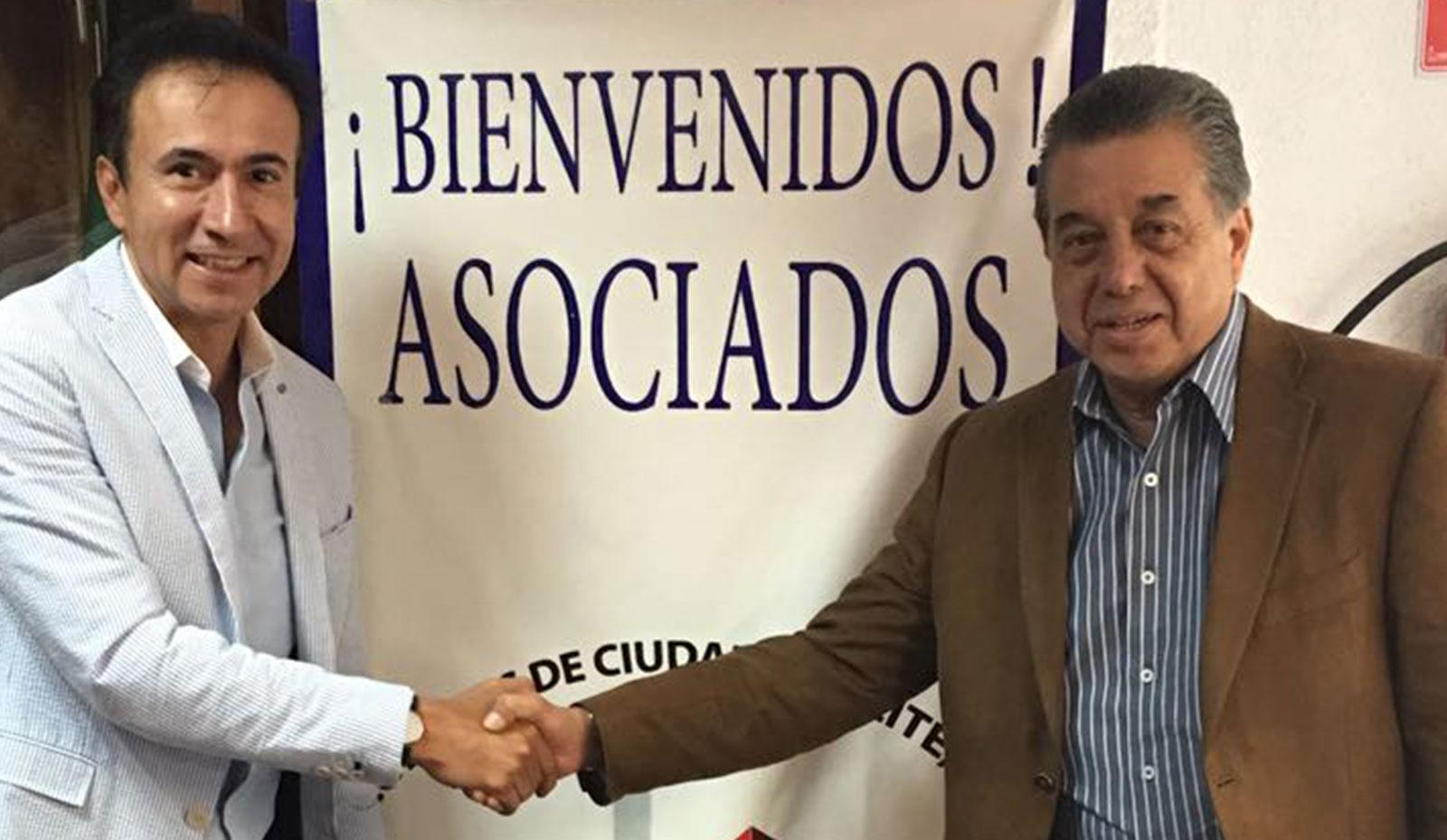 ARMANDO BRAVO RECIBIÓ A TOÑO FLORES