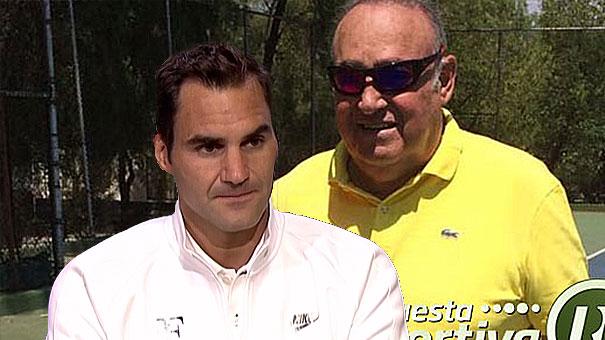 """Federer a confirmar porque es el """"REY""""."""