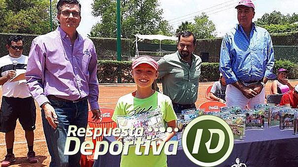 RECONOCIMIENTO A ANA SOFÍA VALERO, CAMPEONA DE 10 AÑOS