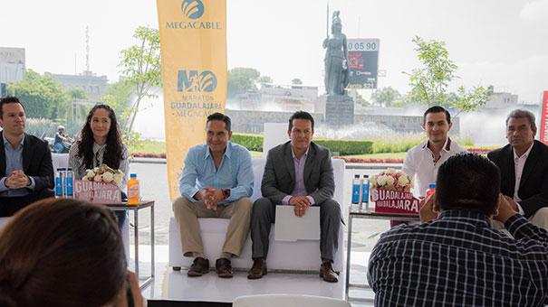 Presentan Maratón Guadalajara Megacable 2017 y nueva ruta.