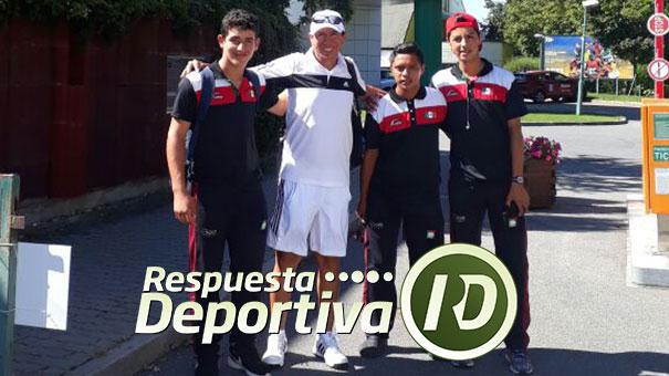 LOS MEXICANOS MUSTRE, BORBOLLA Y AGUILERA YA ENTRENARON EN REPÚBLICA CHECA BAJO LAS ORDENES DE CUCHILLO BECERRA