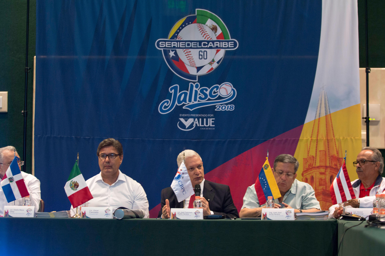 Se reúne en Jalisco la Confederación de Beisbol Profesional del Caribe