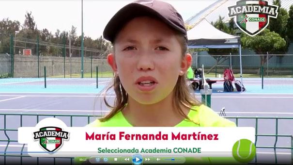 CHECA EL VIDEO DE TENIS DE LA CONADE