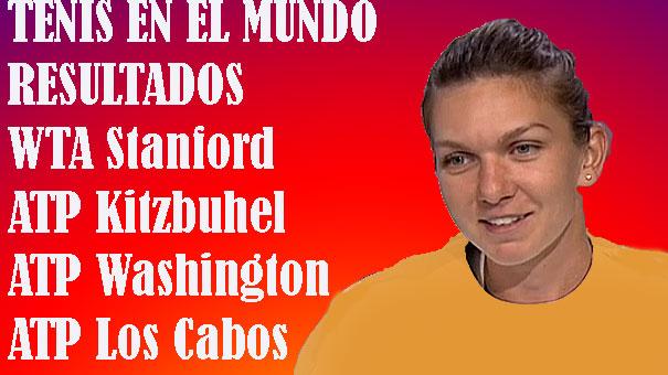 TENIS MUNDIAL…RESULTADOS LOS CABOS, WASHINGTON, KITZBUHEL, STANFORD
