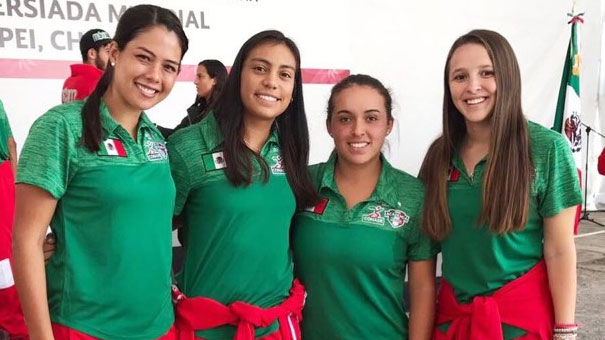 MEXICANAS EN UNIVERSIADA: JESSICA HINOJOSA