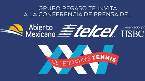 ABIERTO MEXICANO: LANZAMIENTO EL DÍA 20 DE SEPTIEMBRE XXV EDICIÓN