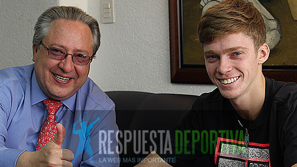 JOAQUÍN ARAICO RÍO TRAJO A MÉXICO A ANDREY RUBLEV SIENDO UNO DEL MUNDO