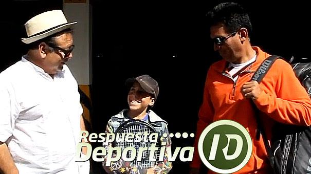 OSWALDO REYES TRABAJA EN UN PROYECTO SERIO DE TENIS