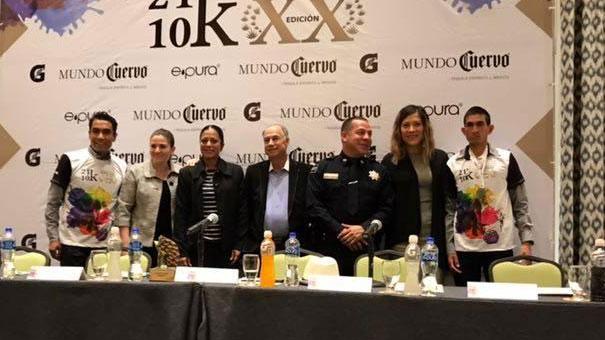 Presentan nueva ruta del Medio Maratón de Tequila.