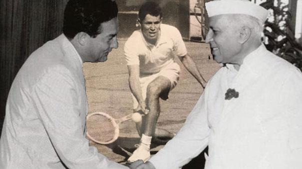 1962 COPA DAVIS: OCTAVIO PAZ LA HIZO DE AYUDANTE DEL CAPITÁN EN LA INDIA